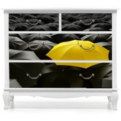 Naklejka na meble - yellow umbrella