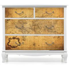 Naklejka na meble - vintage map of the world 1778