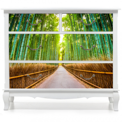Naklejka na meble - Bamboo Forest of Kyoto, Japan