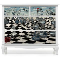 Naklejka na meble - Fantasy Chess