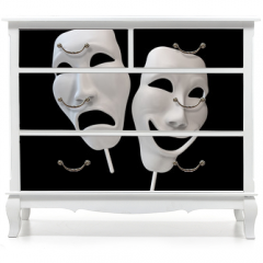 Naklejka na meble - Drama and comedy