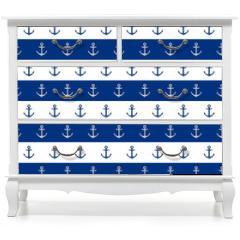 Naklejka na meble - Nautical background