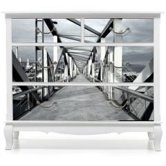 Naklejka na meble - Stahlbrücke