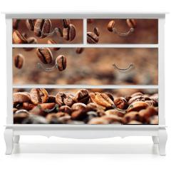 Naklejka na meble - Ziarna kawy