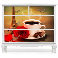 Naklejka na meble - Romantyczna wycieczka do Francji
