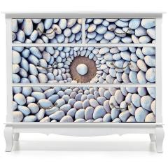 Naklejka na meble - Kamienne kręgi