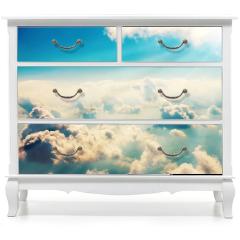 Naklejka na meble - Chmury i niebo
