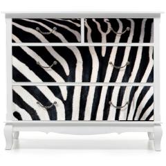 Naklejka na meble - Zebra patterns