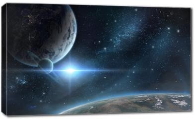 Obraz na płótnie canvas - Планеты