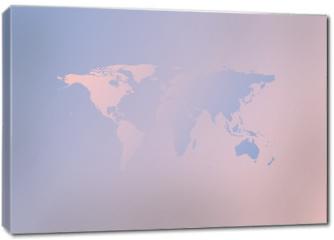 Obraz na płótnie canvas - Trendy color of the 2016 year. Rose quartz and serenity