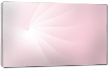 Obraz na płótnie canvas - Rose Soft Pastel Light Cloud Waves Sky Background Vector Illustration