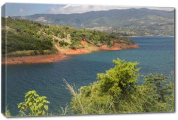 Obraz na płótnie canvas - Landscape - Lake Arenal