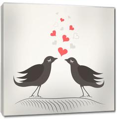 Obraz na płótnie canvas - Love a bird2