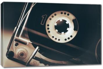 Obraz na płótnie canvas - Old School Audio Cassette