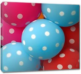 Obraz na płótnie canvas - Colorful Balloons Make a Happy Mood