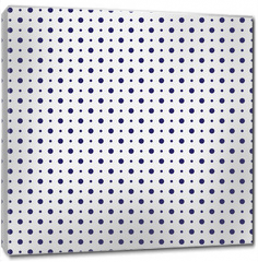 Obraz na płótnie canvas - Vector seamless pattern. Abstract geometric tile background made with dots.