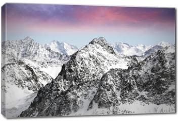 Obraz na płótnie canvas - alps