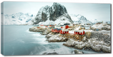 Obraz na płótnie canvas - Fisherman's village, Lofoten island