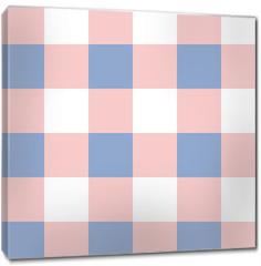 Obraz na płótnie canvas - Rose Quartz Serenity White Chessboard Background Vector Illustration