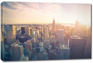 Obraz na płótnie canvas - New York city skyline