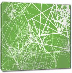 Obraz na płótnie canvas - Random sketchy lines abstract monochrome background, pattern