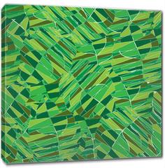 Obraz na płótnie canvas - Seamless pattern with leaves.