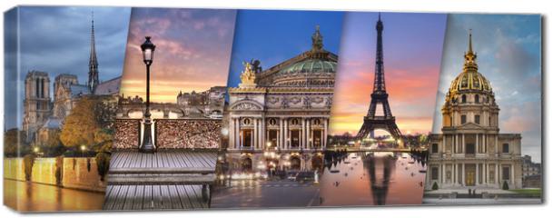 Obraz na płótnie canvas - Ville de Paris France