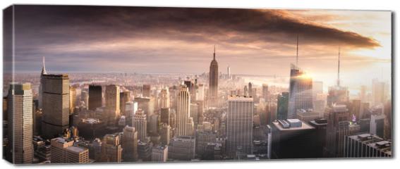 Obraz na płótnie canvas - Briliant Manhattan
