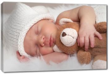 Obraz na płótnie canvas - sleeping newborn