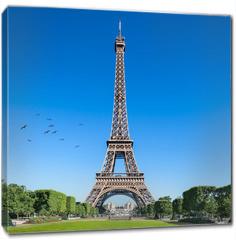 Obraz na płótnie canvas - Eiffelturm in Paris, Frankreich