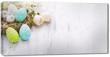 Obraz na płótnie canvas - Easter background concept.