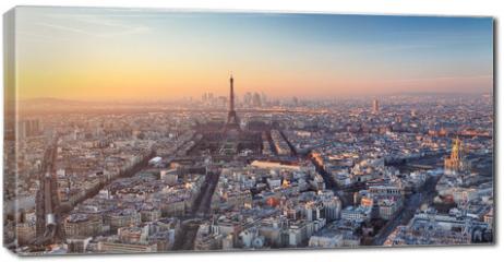 Obraz na płótnie canvas - Paris - Eiffel tower, France
