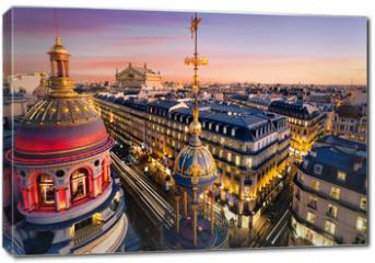 Obraz na płótnie canvas - Toits de Paris, France