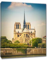 Obraz na płótnie canvas - Notre Dame de Paris at spring, France