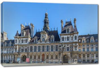 Obraz na płótnie canvas - City hall, Paris