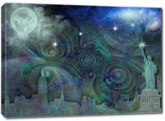 Obraz na płótnie canvas - NYC Skyline
