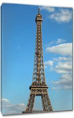 Obraz na płótnie canvas - Eiffel Tower in Paris France