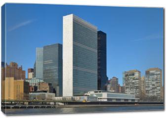 Obraz na płótnie canvas - United Nations Building.