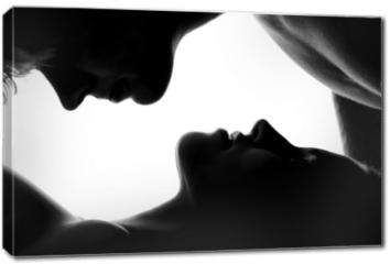 Obraz na płótnie canvas - Young caucasian couple