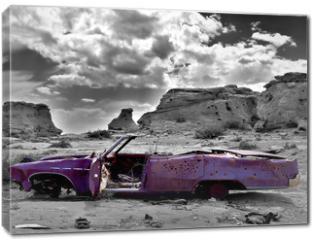 Obraz na płótnie canvas - abandoned car