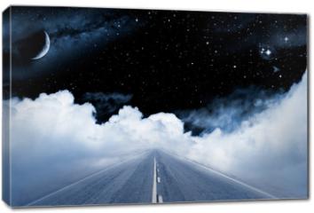 Obraz na płótnie canvas - Road to the Galaxy