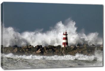 Obraz na płótnie canvas - Stormy waves