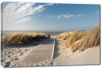 Obraz na płótnie canvas - Nordsee Strand auf Langeoog