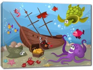 Obraz na płótnie canvas - sea life