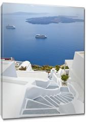 Obraz na płótnie canvas - Santorini