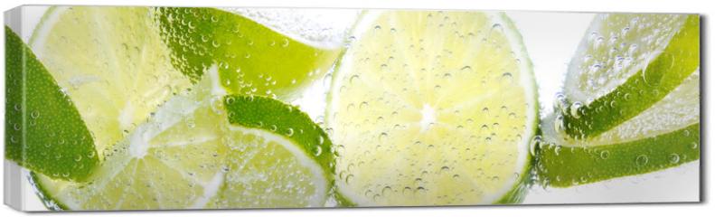 Obraz na płótnie canvas - Limette & Zitrone