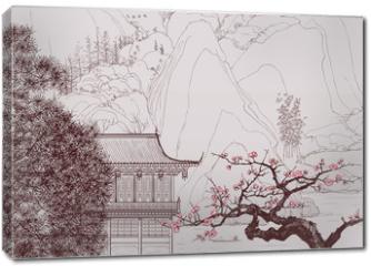 Obraz na płótnie canvas - Chinese landscape