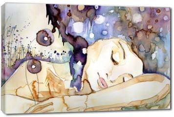 Obraz na płótnie canvas - marzenia senne