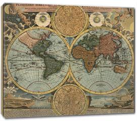 Obraz na płótnie canvas - Ancient map
