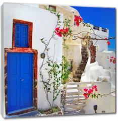 Obraz na płótnie canvas - traditional Greek islands series - santorini